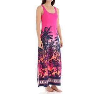 Tommy Bahama Ombre Palm Maxi Dress